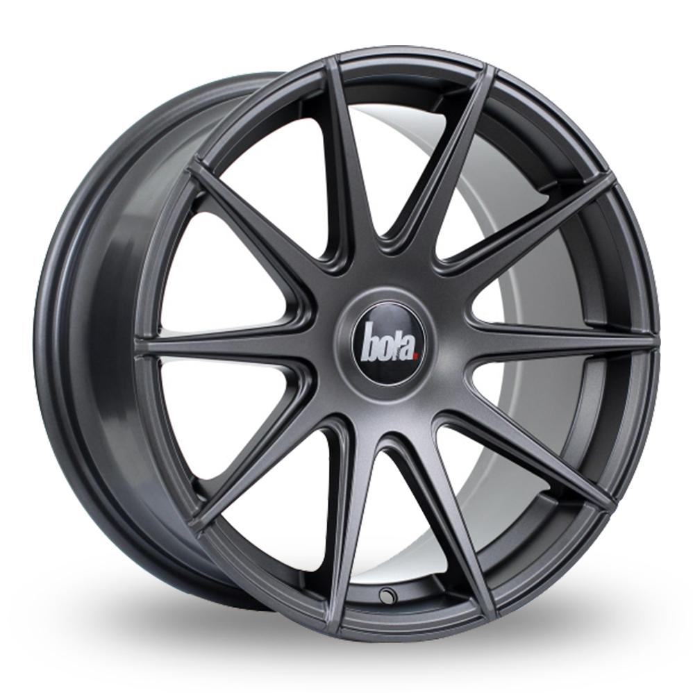 "18"" Bola CSR Matt Gunmetal Alloy Wheels"