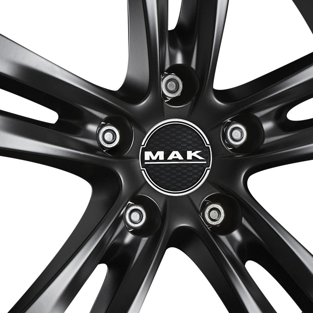 18 Inch MAK Zenith Matt Black Alloy Wheels