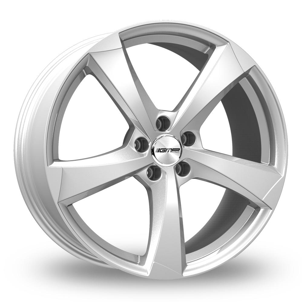 """18"""" GMP Italia Ican Silver Alloy Wheels"""