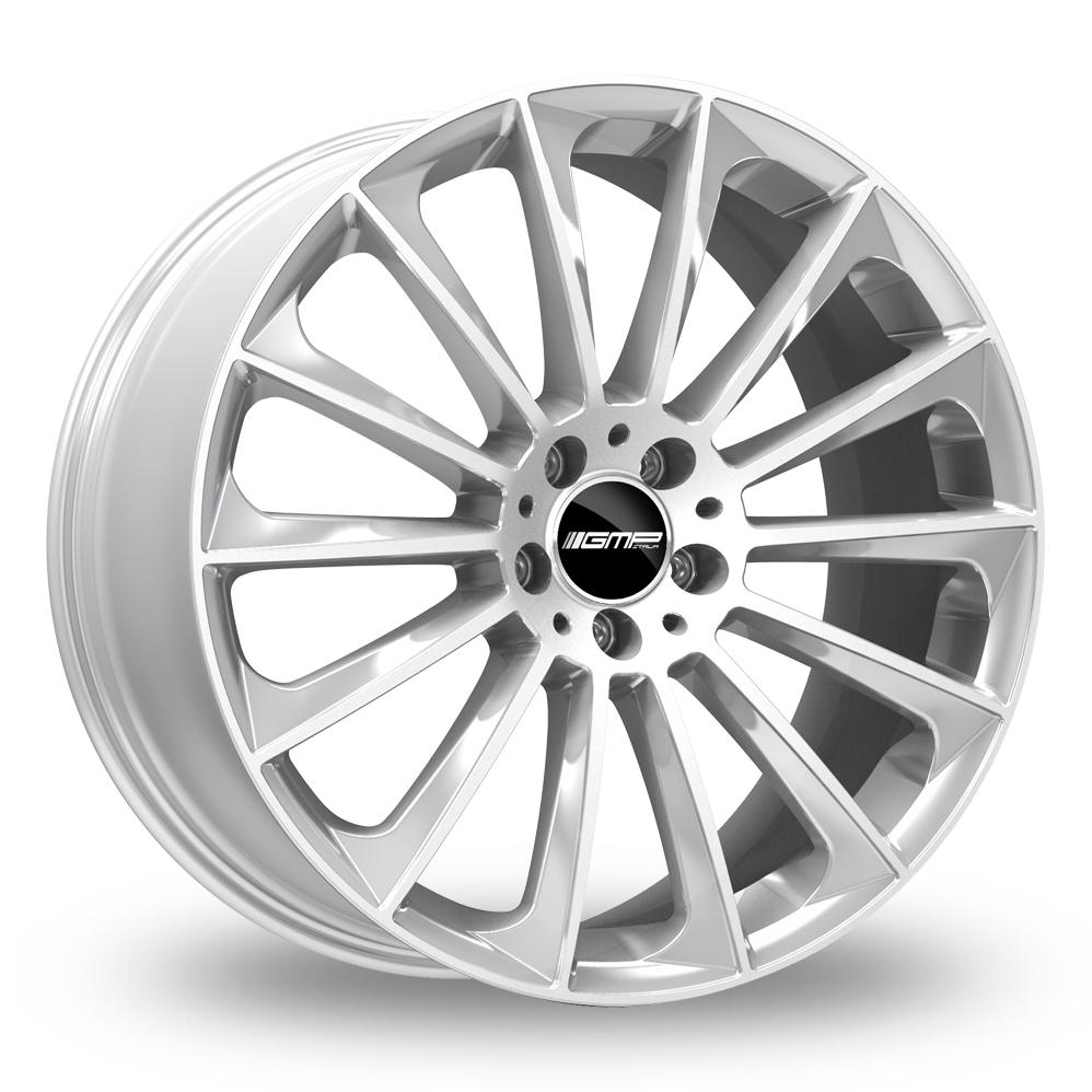 """21"""" GMP Italia Stellar Silver Alloy Wheels"""