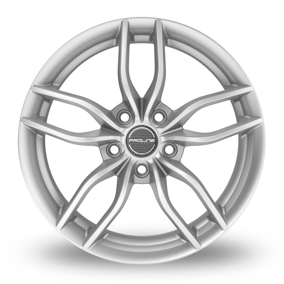 19 Inch Proline ZX100 Arctic Silver Alloy Wheels