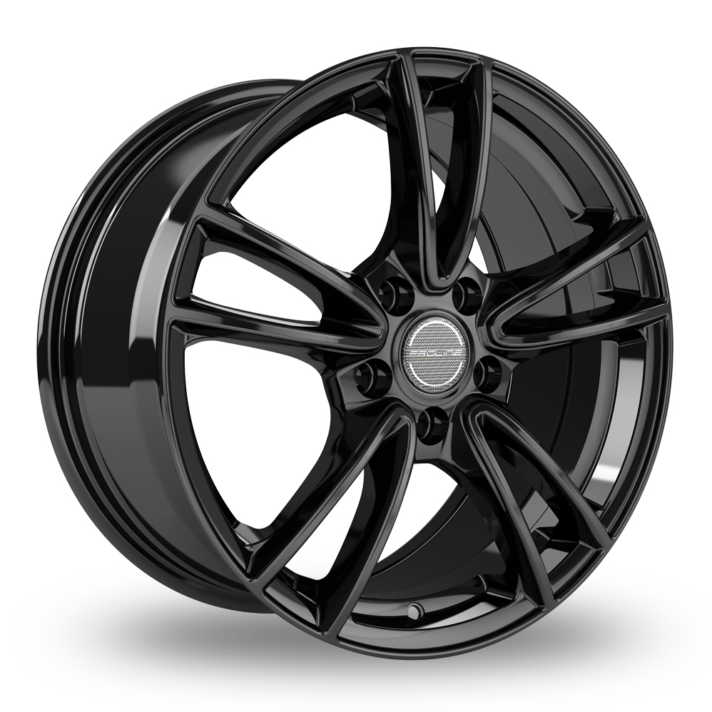 "17"" Proline CX300 Black Glossy Alloy Wheels"