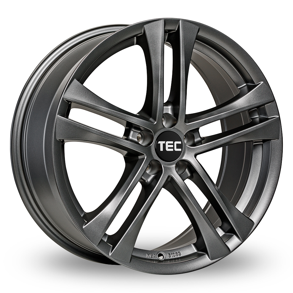 18 Inch TEC Speedwheels AS4 Gun Metal Alloy Wheels