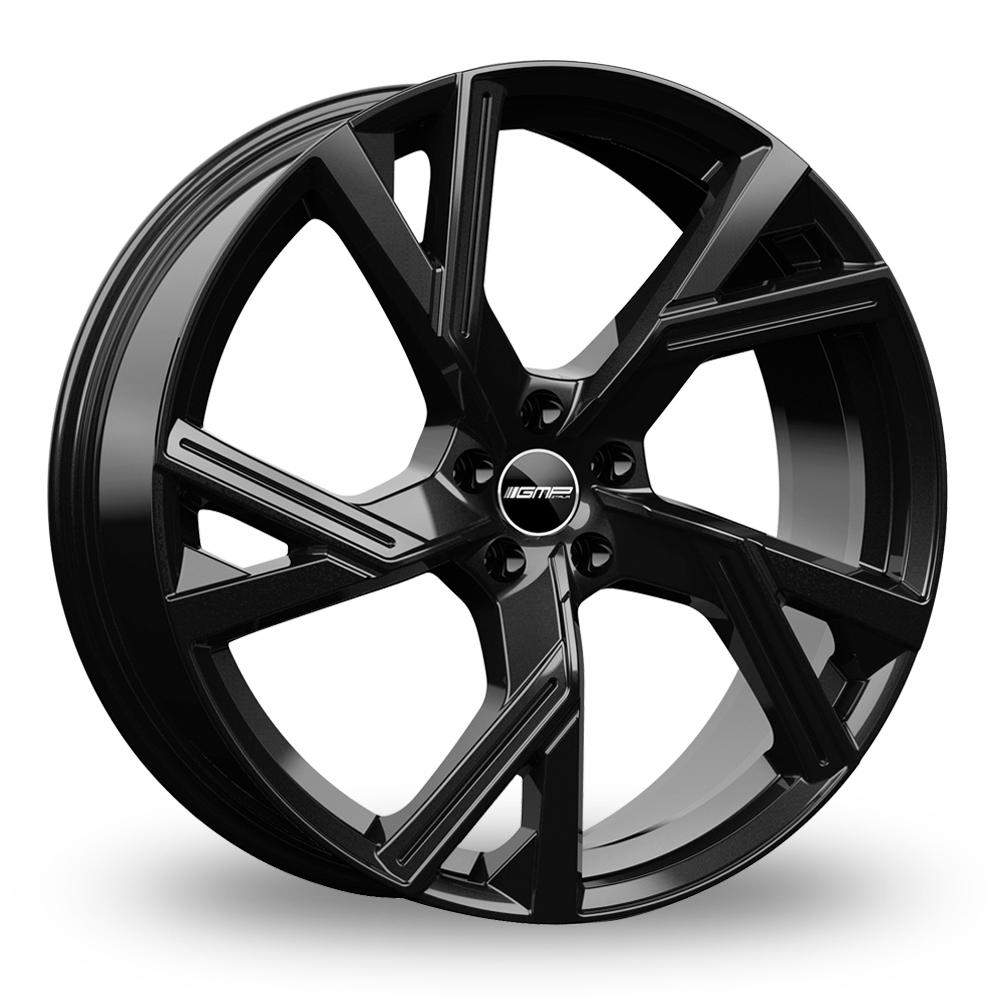 "21"" GMP Italia Angel Gloss Black Alloy Wheels"