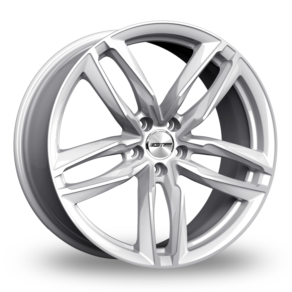"21"" GMP Italia Atom Silver Wider Rear Alloy Wheels"