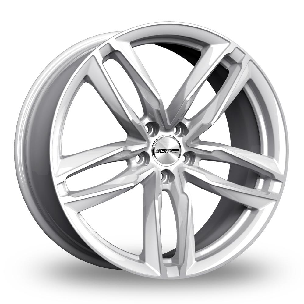 9x21 (Front) & 10x21 (Rear) GMP Italia Atom Silver Alloy Wheels