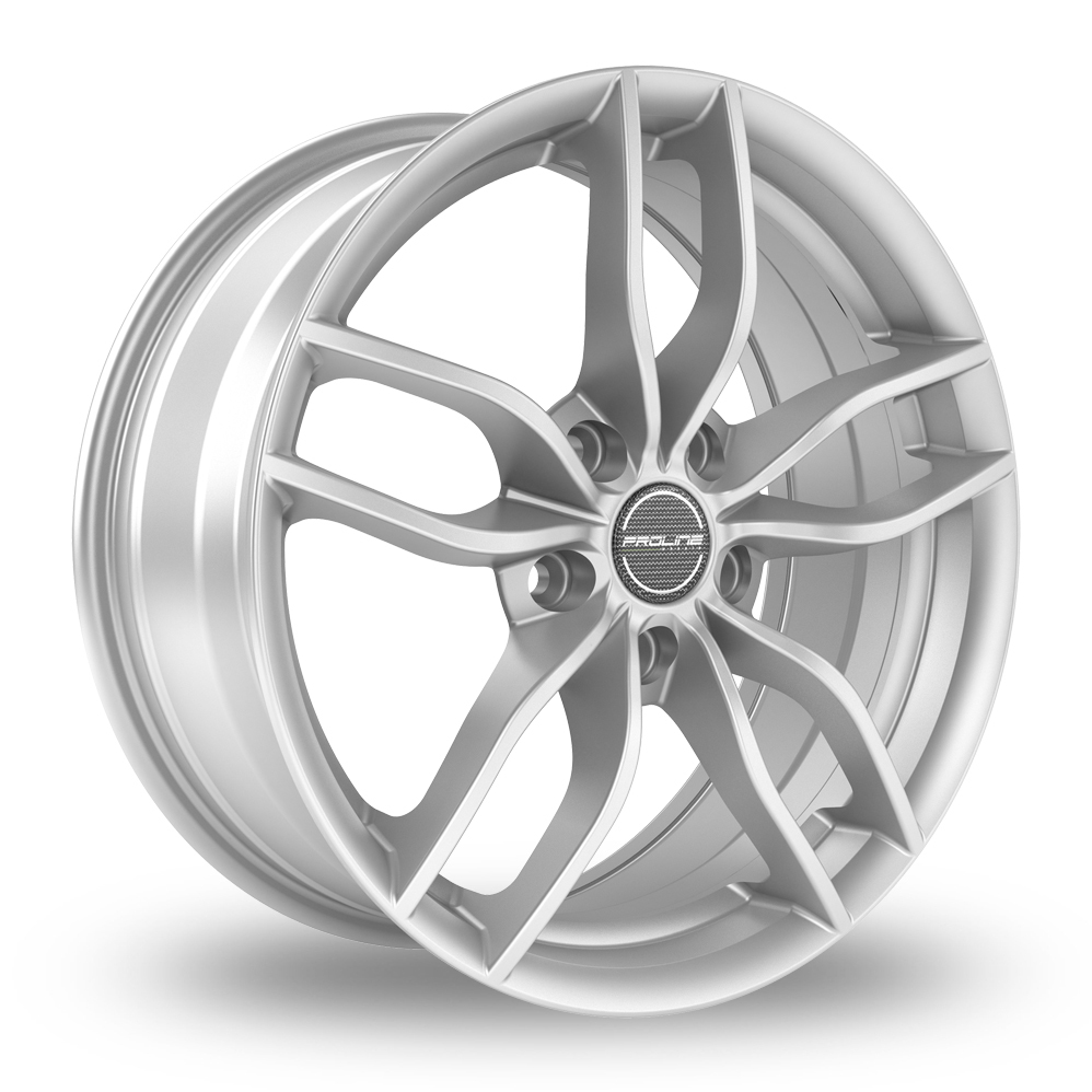 15 Inch Proline ZX100 Arctic Silver Alloy Wheels