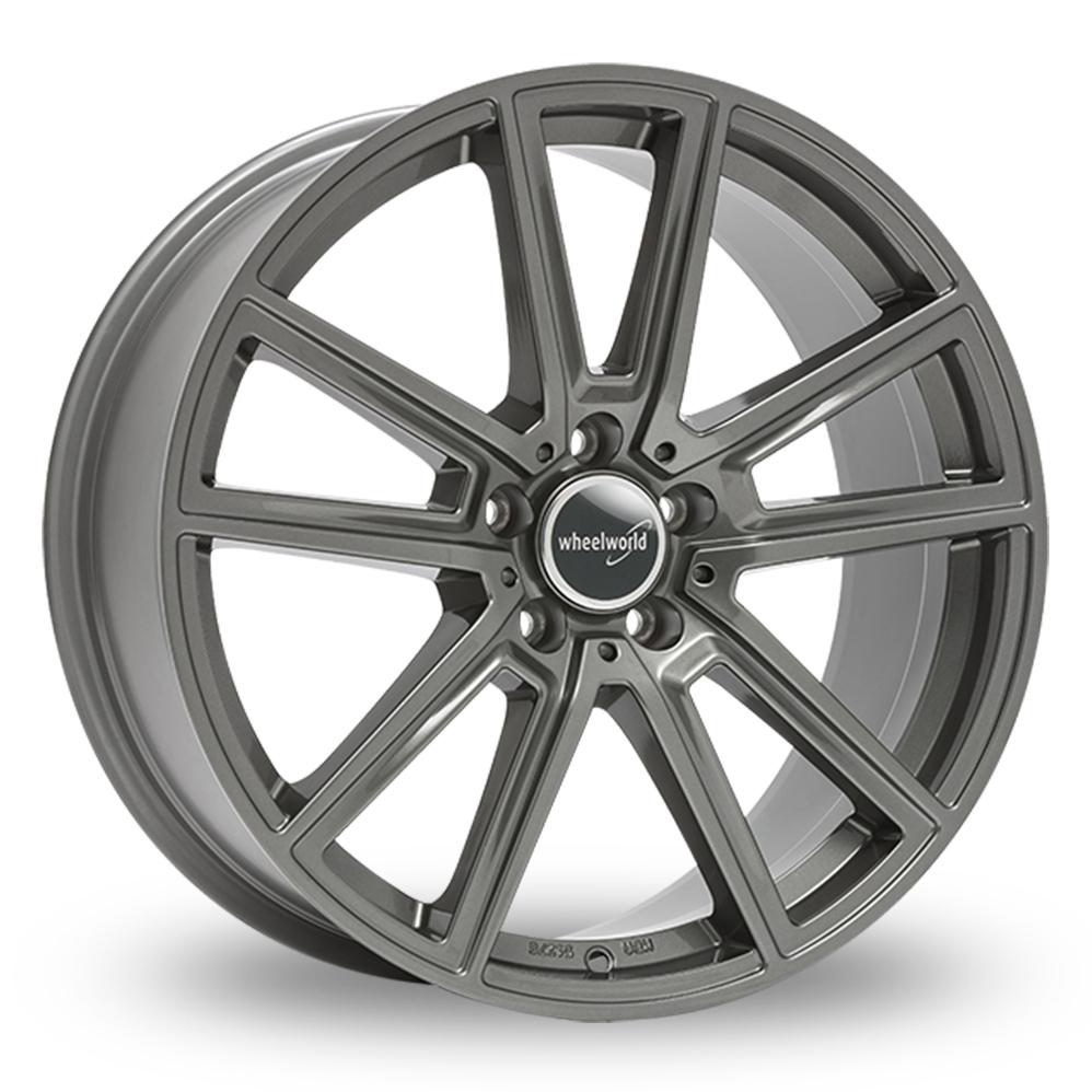 "18"" Wheelworld WH30 Daytona Grey Alloy Wheels"