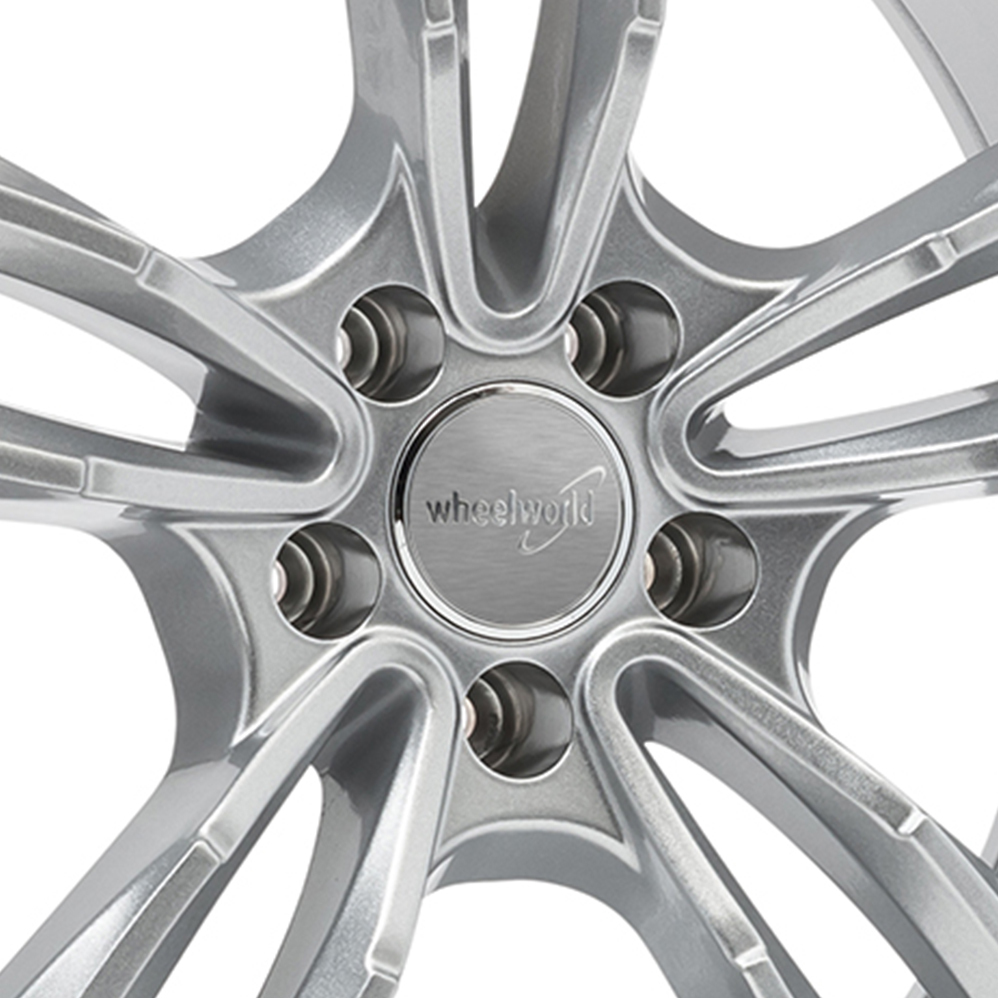 17 Inch Wheelworld WH29 Silver Alloy Wheels