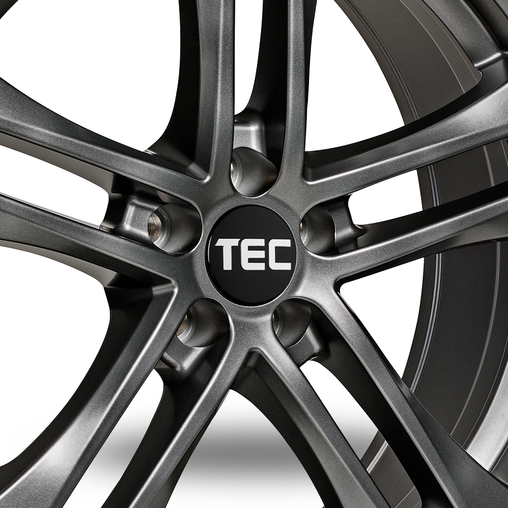 16 Inch TEC Speedwheels AS4 Gun Metal Alloy Wheels
