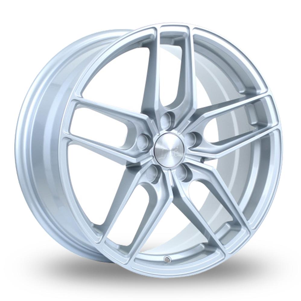 """18"""" Bola B11 Silver Alloy Wheels"""