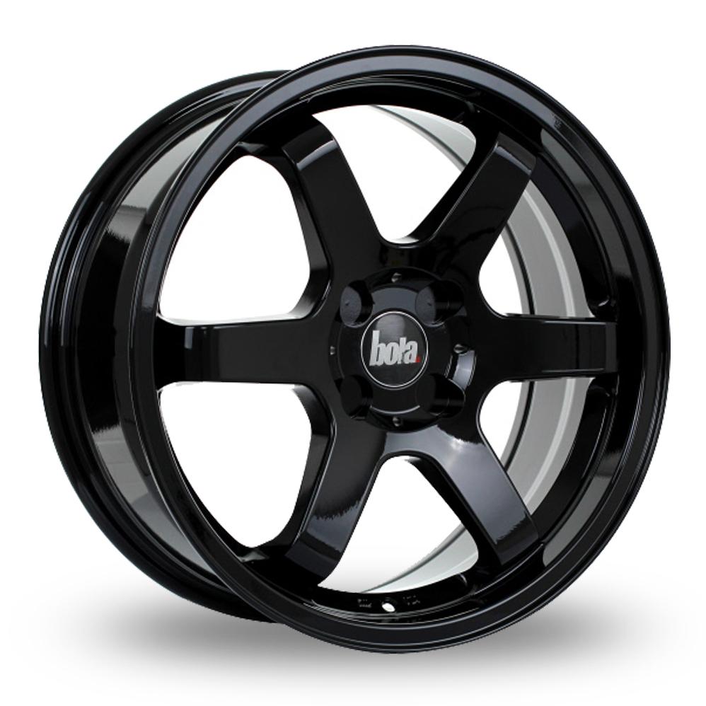 17 Inch Bola B1 Black Alloy Wheels