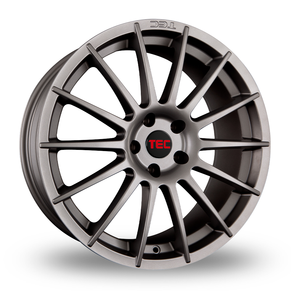 "17"" TEC Speedwheels AS2 Gun Metal Alloy Wheels"