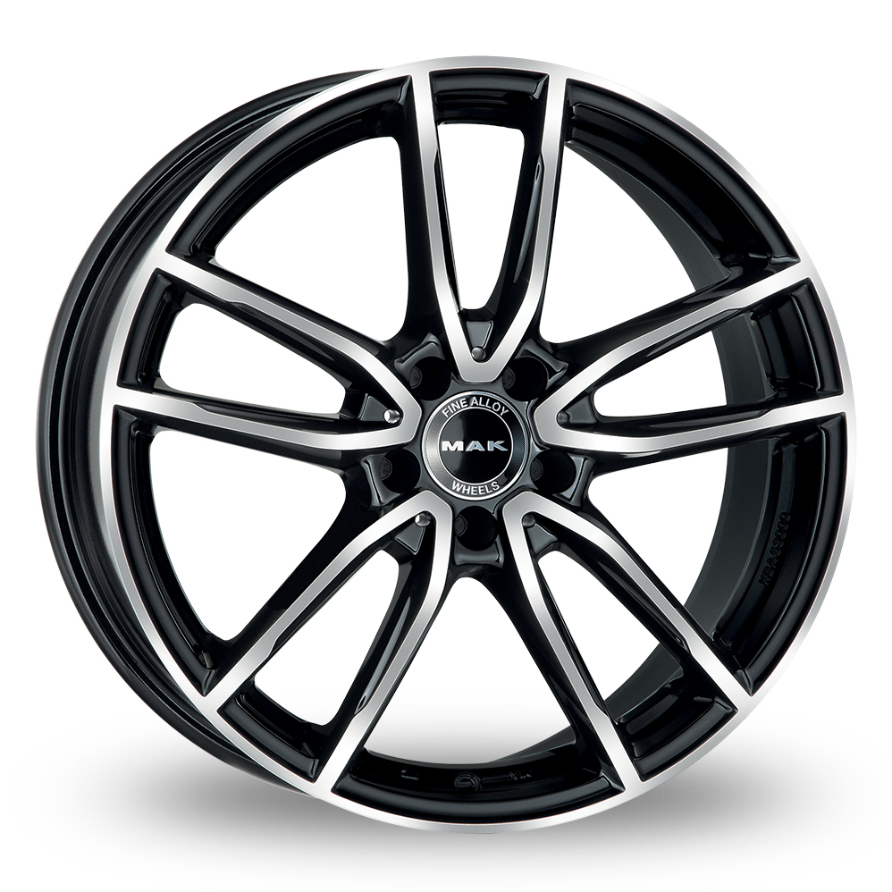 "17"" MAK Evo Black Mirror Alloy Wheels"