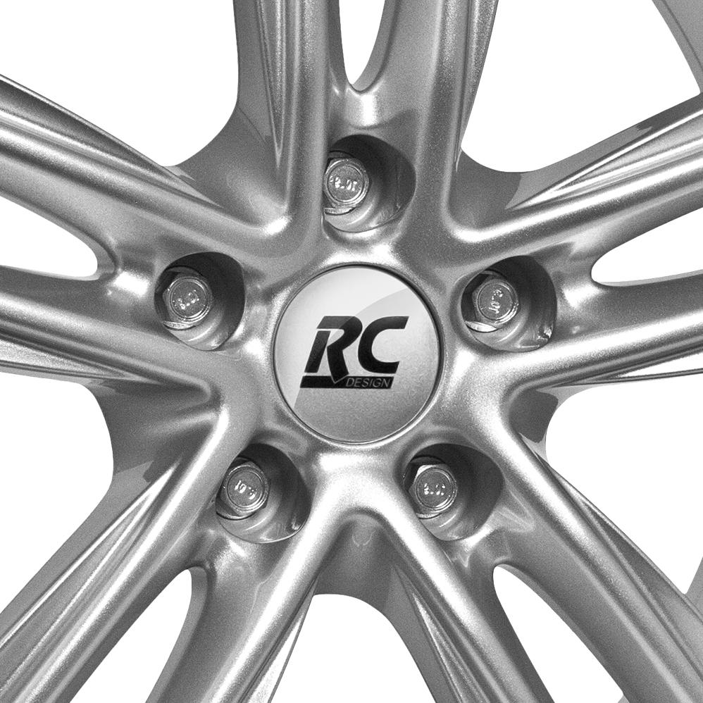 16 Inch RC Design RC27 Silver Alloy Wheels