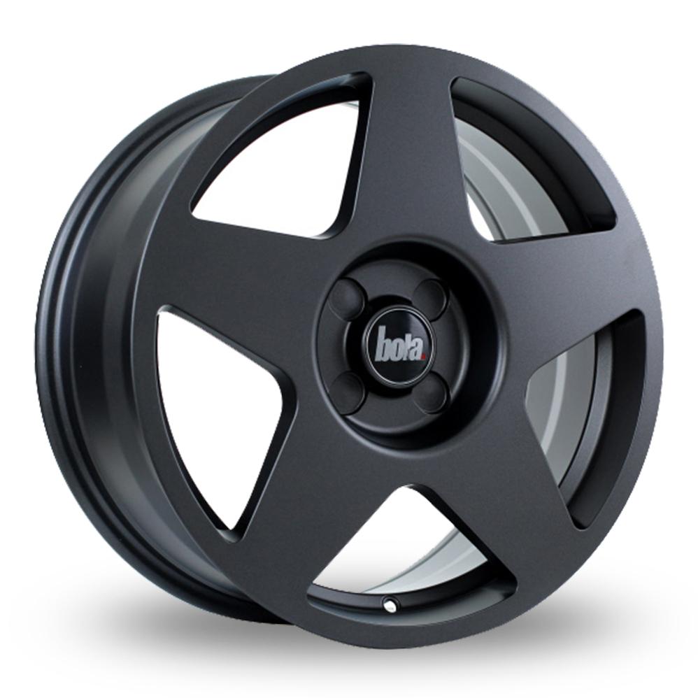 "18"" Bola B10 Matt Gun Metal Alloy Wheels"