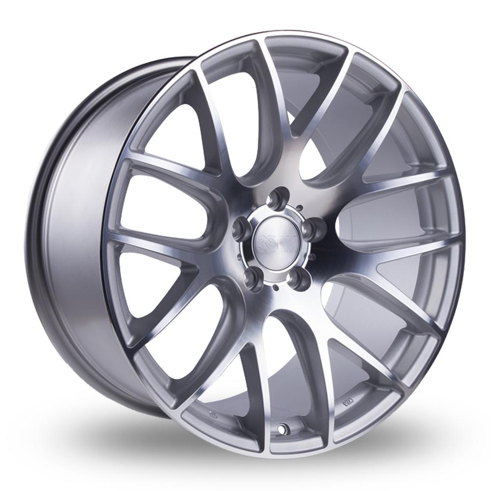 20 Inch 3SDM 0.01 Silver Polished Alloy Wheels