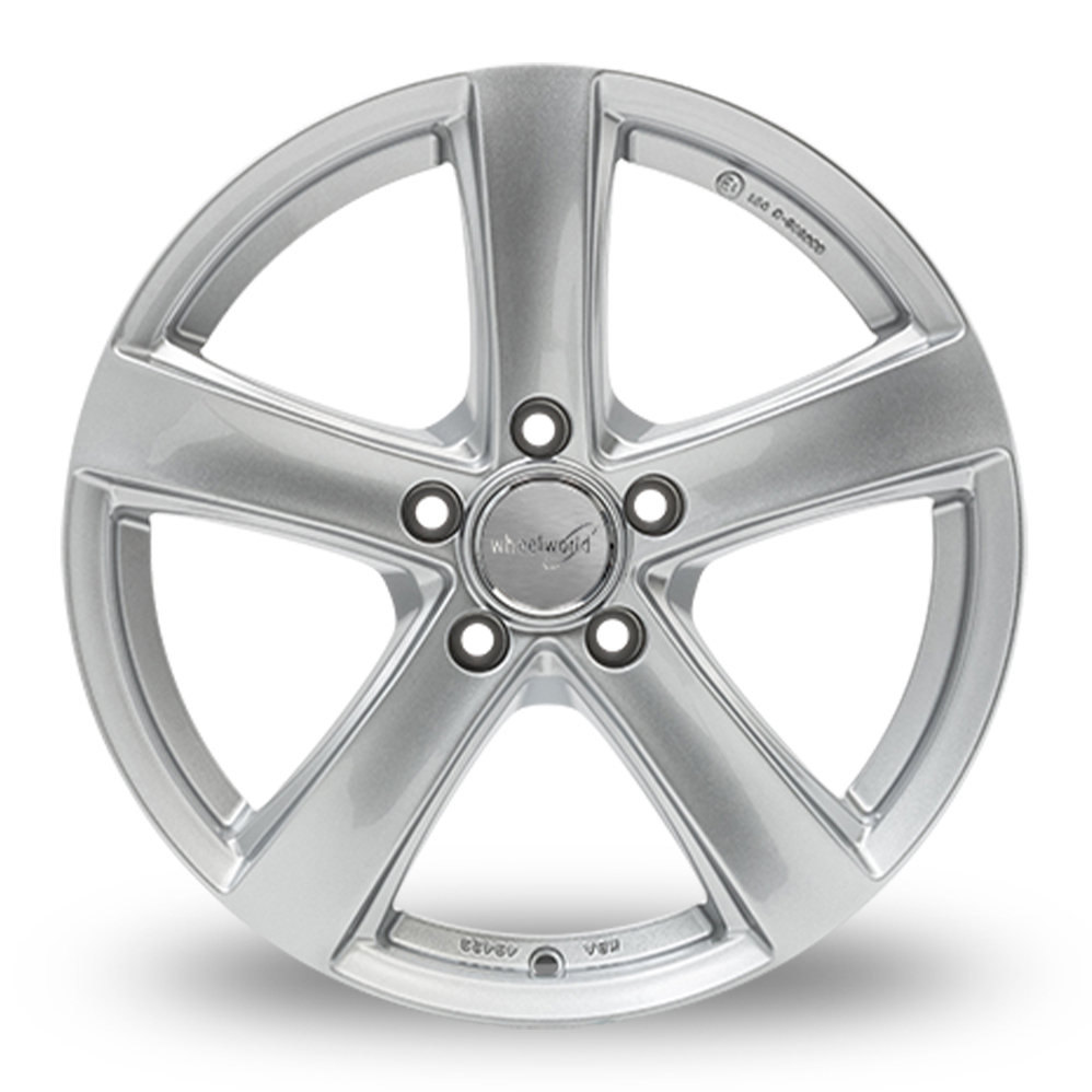 18 Inch Wheelworld WH24 Silver Alloy Wheels
