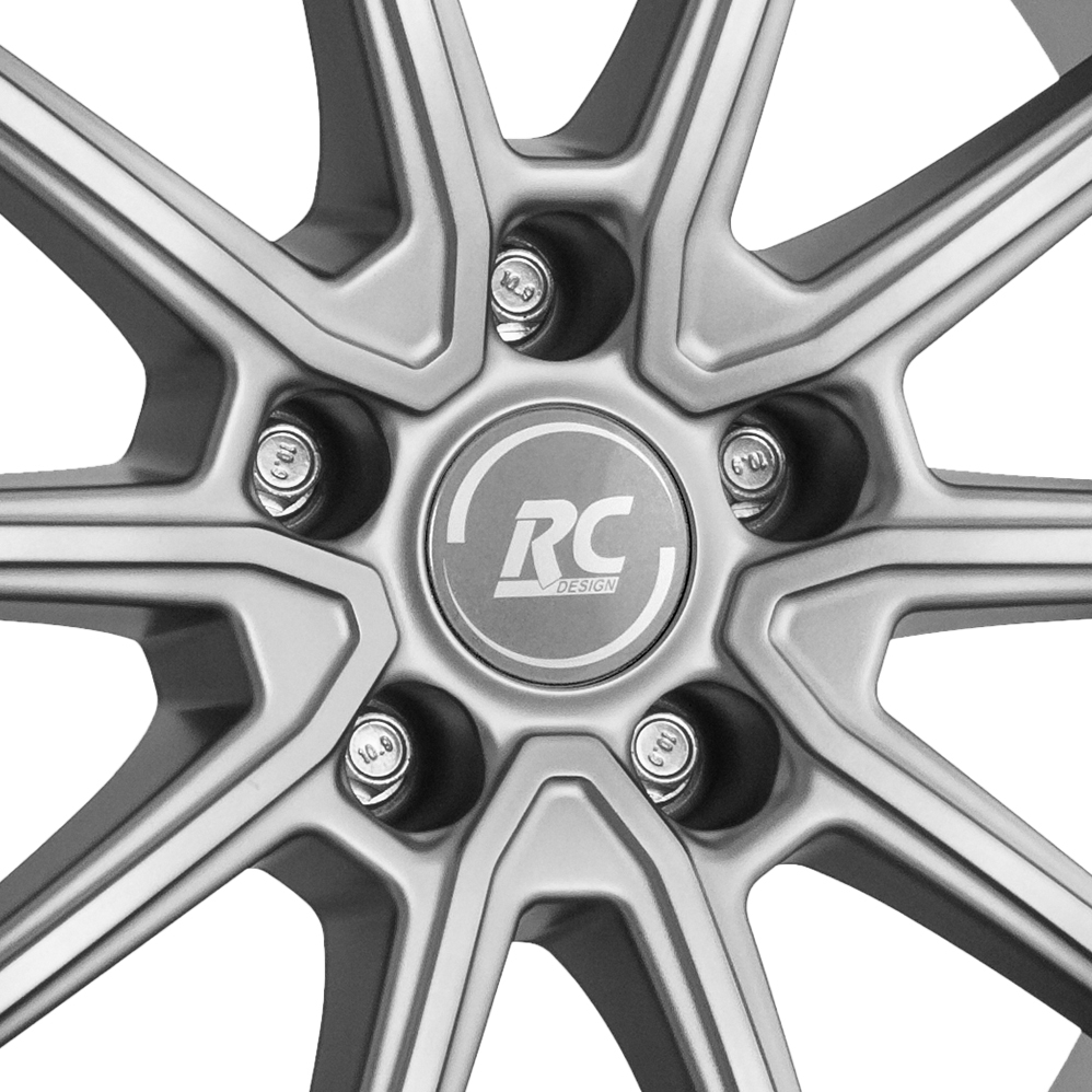 16 Inch RC Design RC32 Matt Grey Alloy Wheels