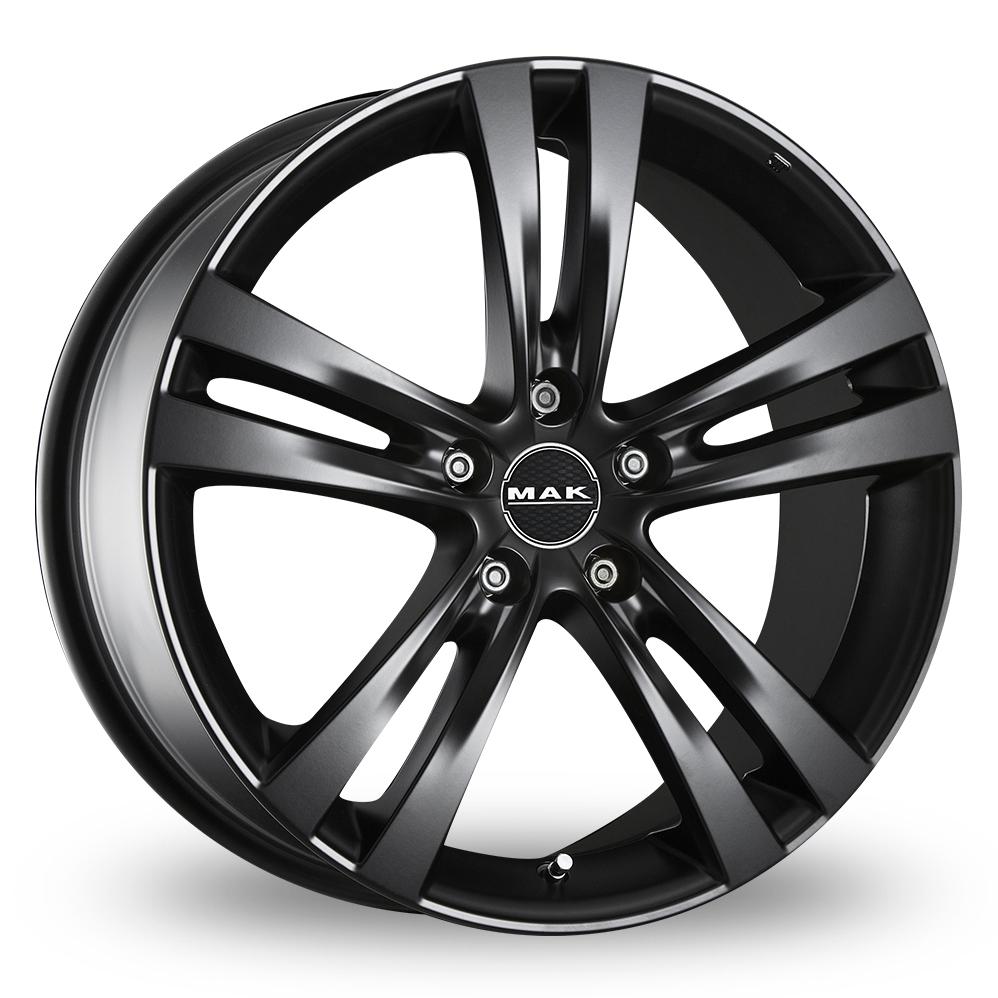 19 Inch MAK Zenith Matt Black Alloy Wheels