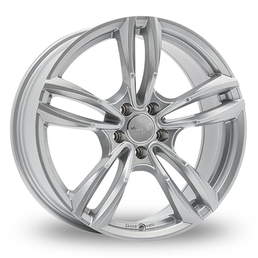 18 Inch Wheelworld WH29 Silver Alloy Wheels