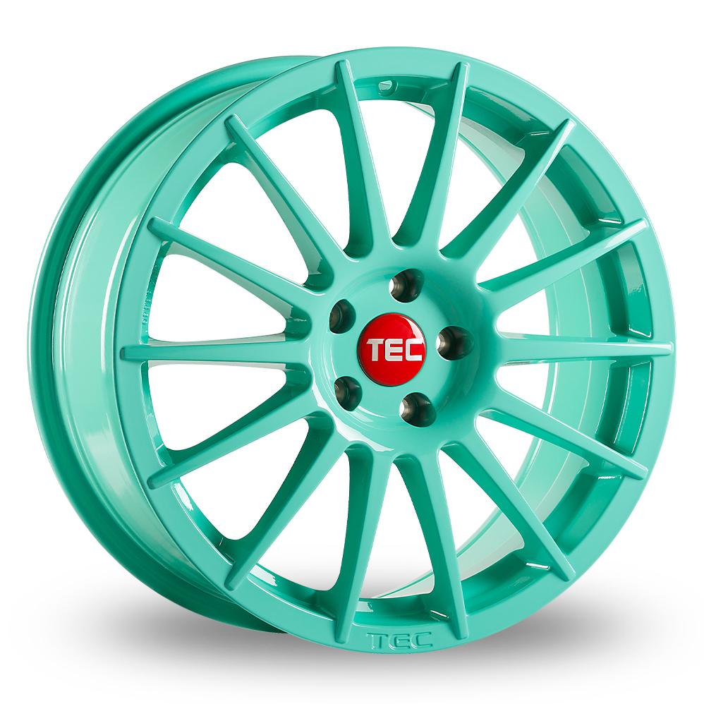 "17"" TEC Speedwheels AS2 Mint Alloy Wheels"