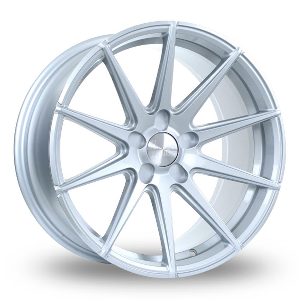 """19"""" Bola CSR Silver Wider Rear Alloy Wheels"""
