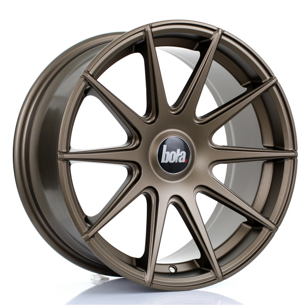 "19"" Bola CSR Matt Bronze Wider Rear Alloy Wheels"