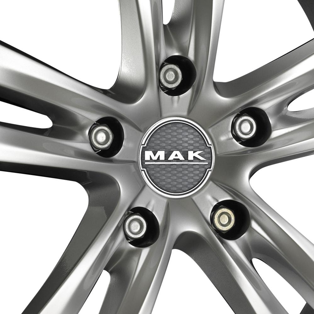 17 Inch MAK Zenith Hyper Silver Alloy Wheels