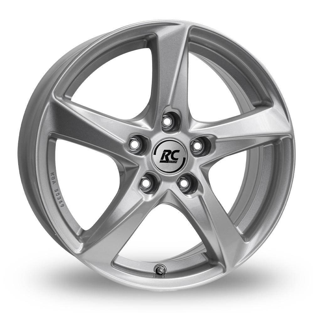 "17"" RC Design RC30 Silver Alloy Wheels"