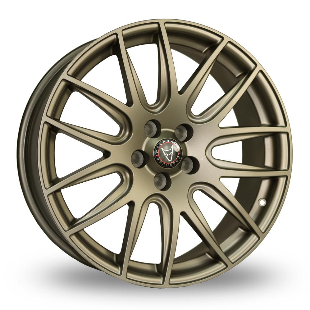 20 Inch Wolfrace Munich Bronze Alloy Wheels