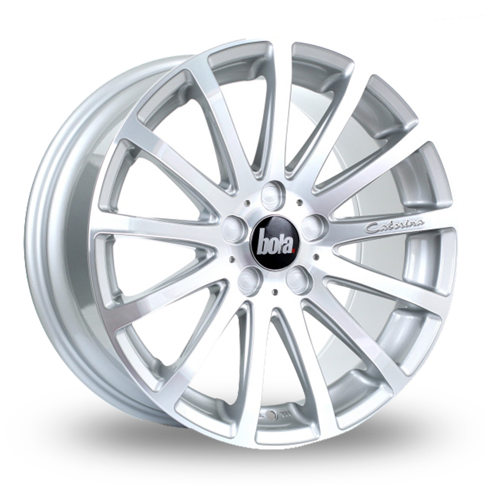 20 Inch Bola XTR Silver Polished Alloy Wheels