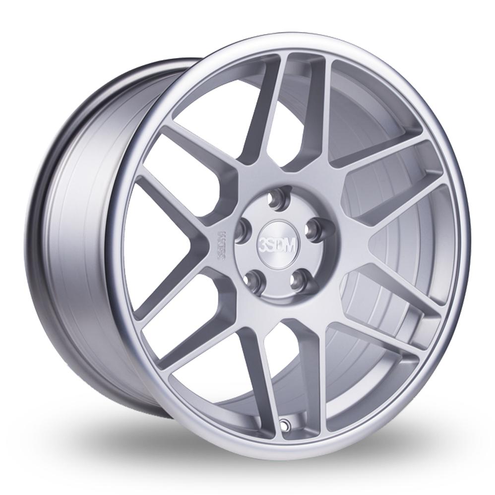 19 Inch 3SDM 0.09 Silver Polished Lip Alloy Wheels
