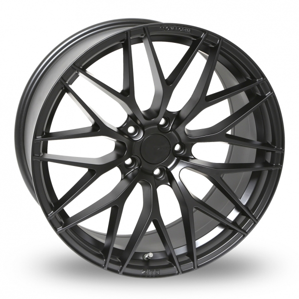 9x20 (Front) 10.5x20 or 11x20 (Rear) Zito ZF01 (Special Offer) Satin Black Alloy Wheels