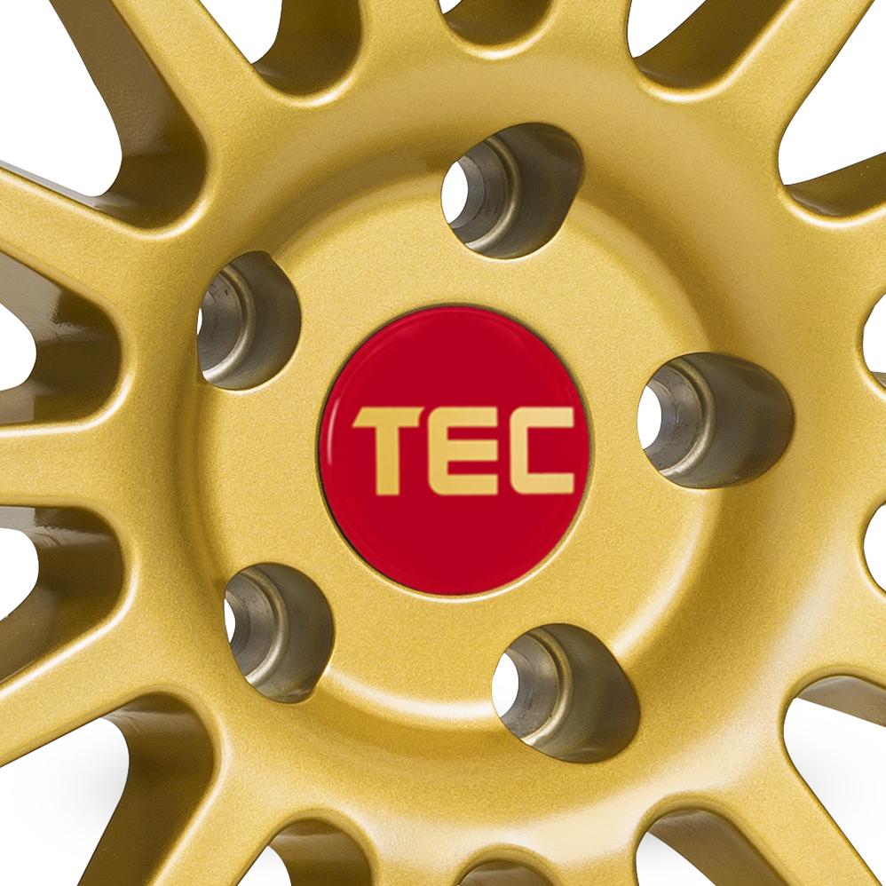 19 Inch TEC Speedwheels AS2 Gold Alloy Wheels