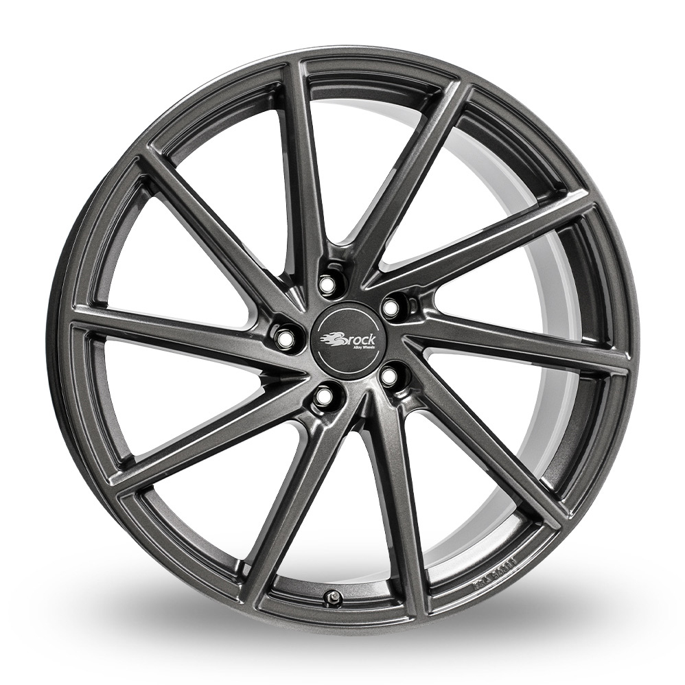 18 Inch Brock B37 Dark Sparkle Alloy Wheels