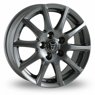17 Inch Wolfrace Milano Titanium Alloy Wheels