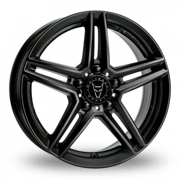 "Picture of 17"" Wolfrace M10 Black"