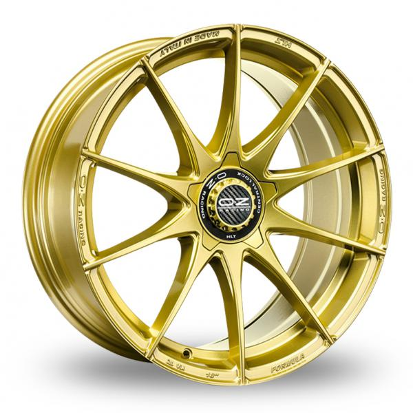 "Picture of 17"" OZ Racing Formula HLT (5) Race Gold"