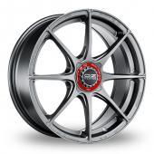 OZ Racing Formula HLT 4 Stud Grigio Corsa Alloy Wheels
