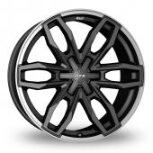 ATS Temperament 6 Grey Alloy Wheels