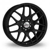 Calibre Exile Matt Black Alloy Wheels