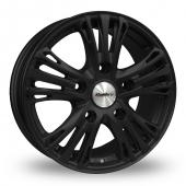 Calibre Odyssey Matt Black Alloy Wheels