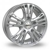 Calibre Odyssey Silver Alloy Wheels