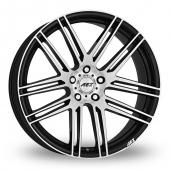 AEZ Cliff Black Polished Alloy Wheels