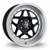 Junk Eighty Six Matt Black Alloy Wheels