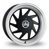 Junk Dreg Matt Black Alloy Wheels