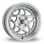 Junk Eighty Six Silver Alloy Wheels