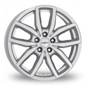 Dezent TE Silver Alloy Wheels
