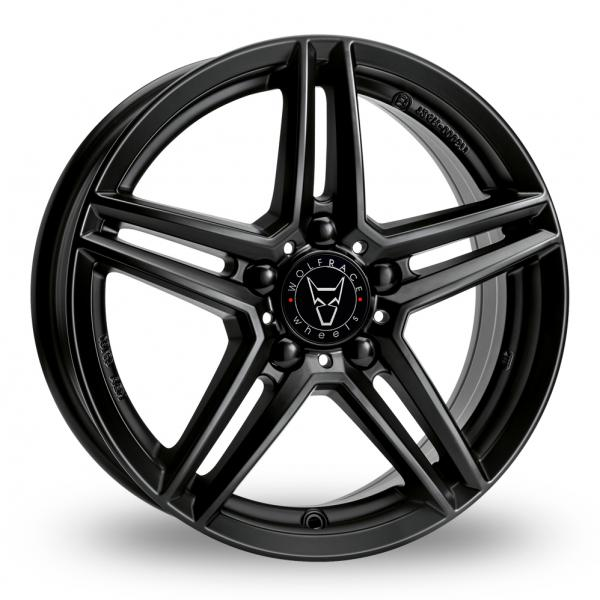 "Picture of 18"" Wolfrace M10 Black"